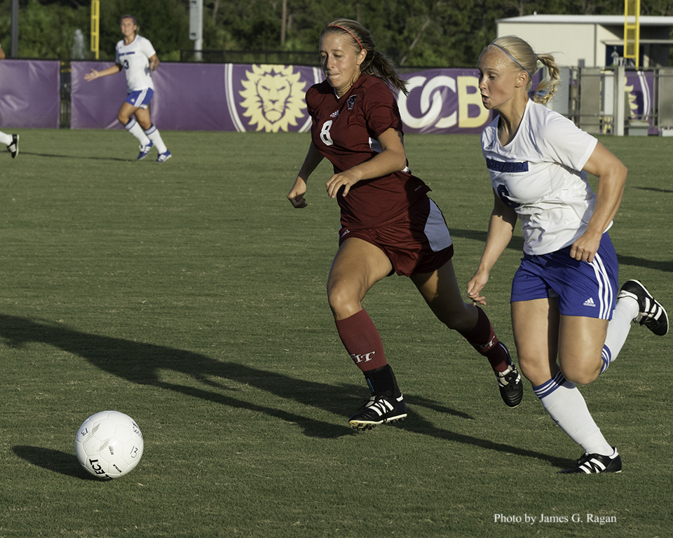 Panther Women Upset Barry in SSC Soccer Semis