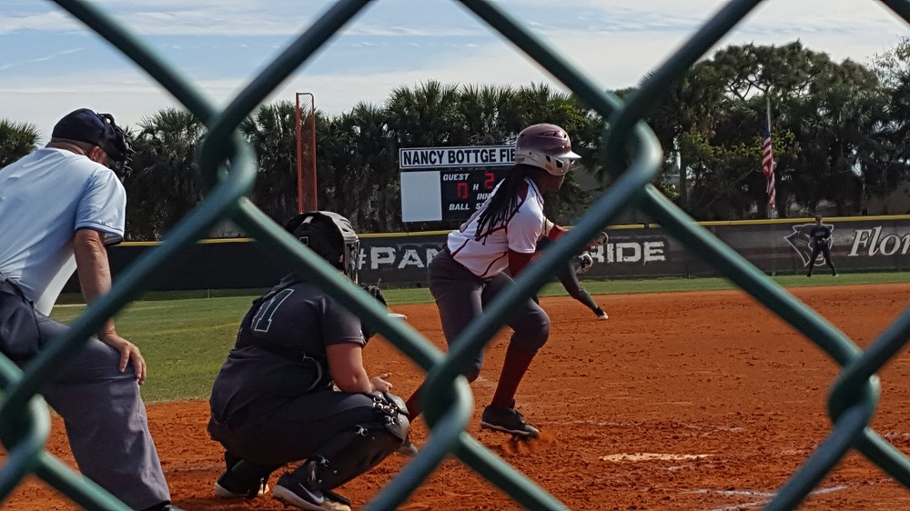 Panthers Manage One Hit at Flagler