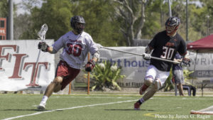 Panthers Win Fifth Straight in Men's Lacrosse