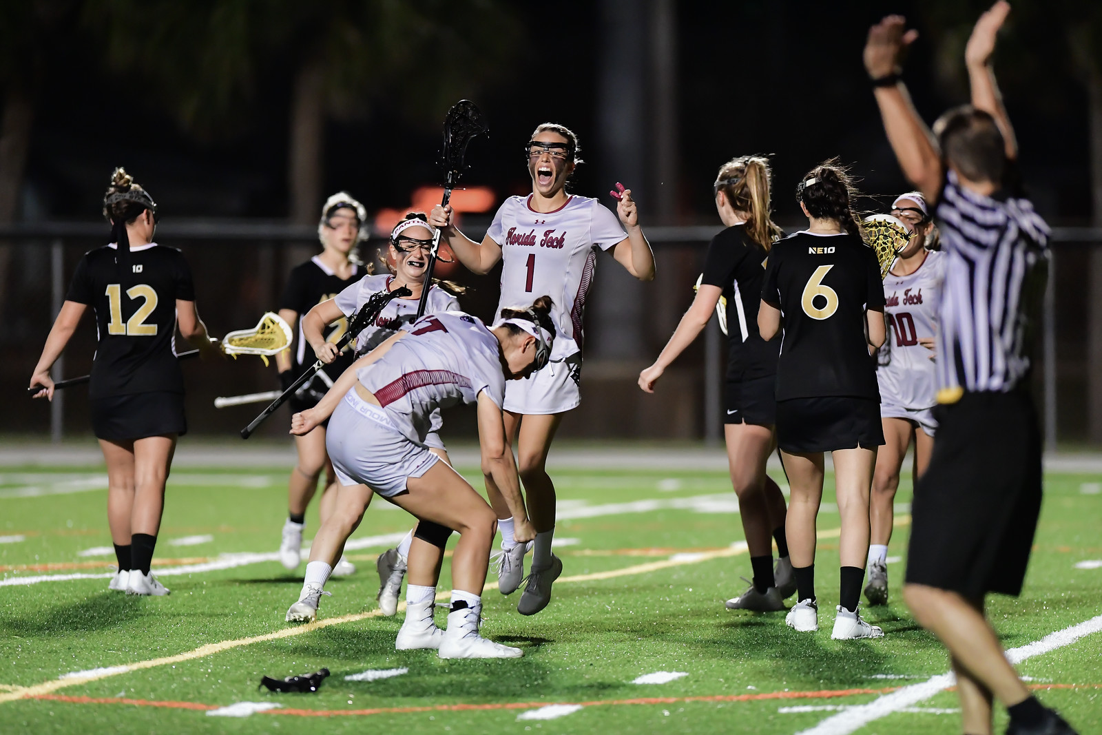 Florida Tech WLAX Slips Past The Rock