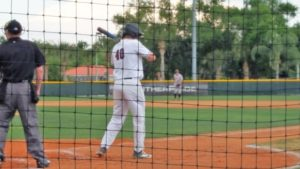 Buser Goes 5-for-5 in Panthers Win Over Tars